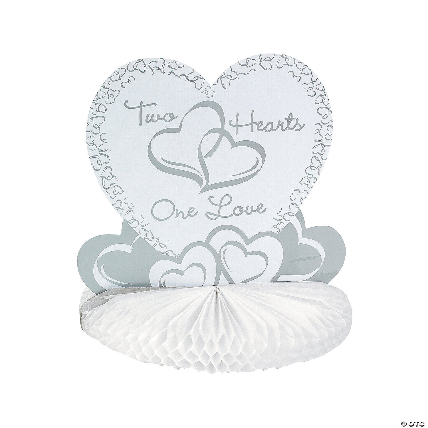 Two Hearts Wedding Centerpiece - Discontinued