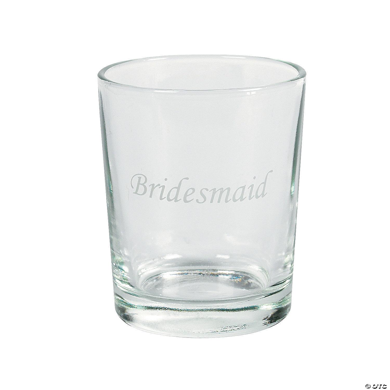 Wedding Party Shot Glasses