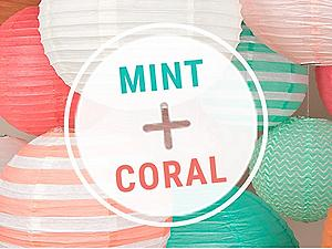 Shop Mint and Coral