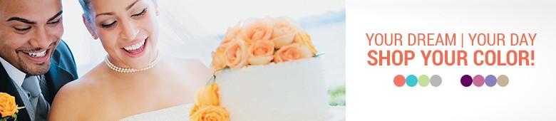 Wedding Shop By Color
