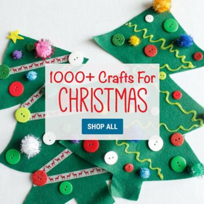 1500 Christmas Crafts  DIY Holiday Craft Kits
