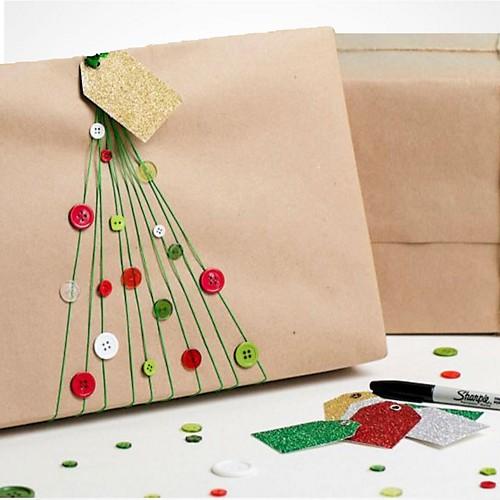 Elastic Christmas Tree Gift Packaging