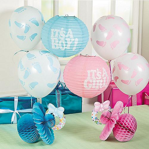 Baby shower favors baby shower themes baby shower ideas for Baby shower decoration kits girl