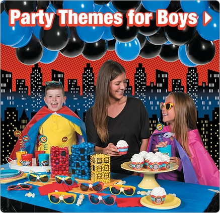 Birthday Party Themes for Boys - Shop Now