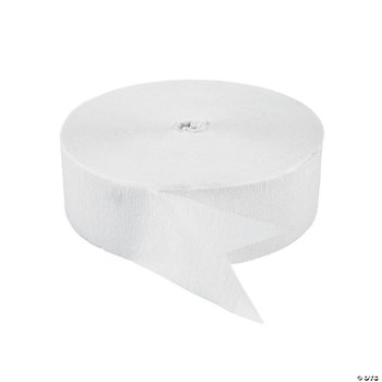 White Jumbo Streamers