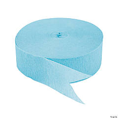 Ice Blue Jumbo Streamers