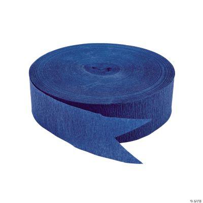 Sapphire Blue Jumbo Streamers