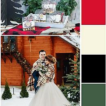 Winter Cabin Wedding