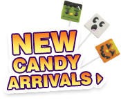 New Candy Arrivals