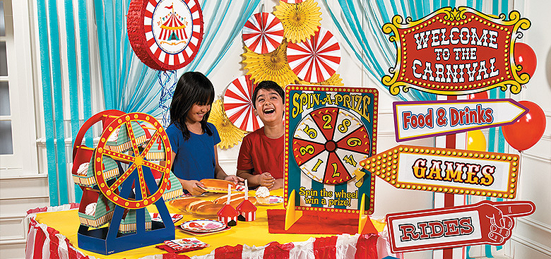 Top birthday party theme ideas allure events weddings top indian wedding planners - Carnival theme party for adults ...