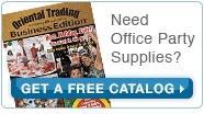 Need Office Party Supplies? Get a Free Catalog