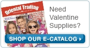 Need Valentine Party Supplies? Shop our E-Catalog