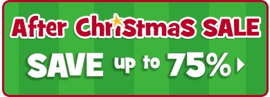 Christmas Sale - SAVE up to 75%
