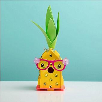 DIY Pineapple Birdhouse