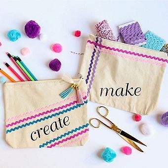 Rickrack Craft Supply Bags