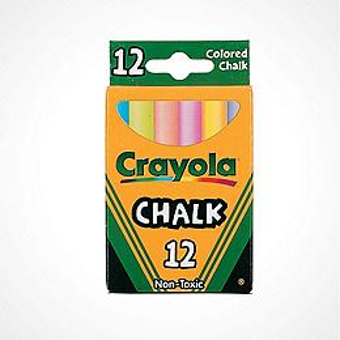 Crayola® 12 Pc. Children?s Colored Chalk