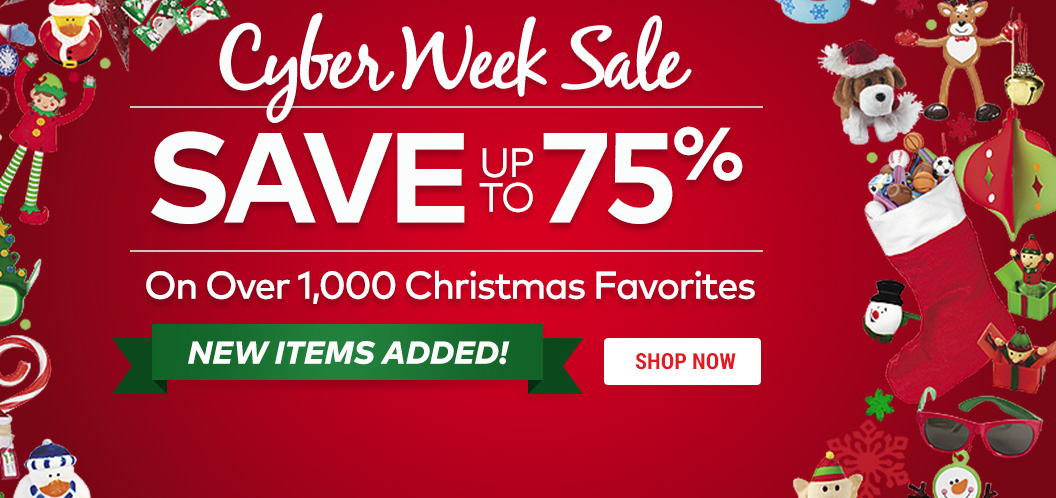 Cyber Week Sale - SAVE up to 75