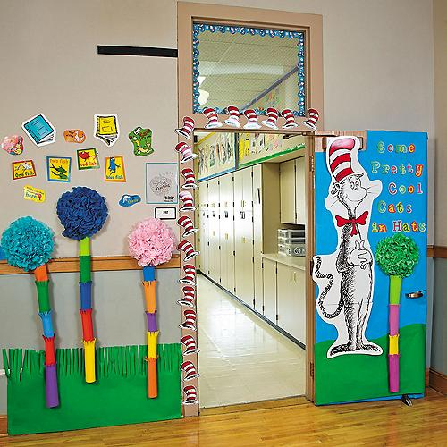 Teacher Classroom Decoration Supplies ~ Dr seuss teaching supplies bulletin board cat