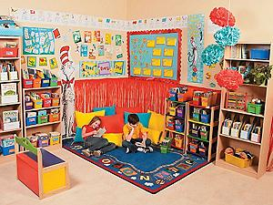 Dr. Seuss Reading Corner Idea