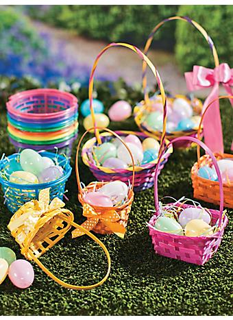 Easter Baskets & Grass