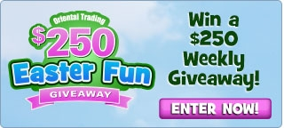 Easter Fun Giveaway - Win a $250 Weekly Giveaway! Enter Now!