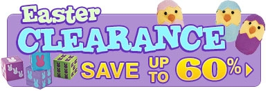 Easter Clearance - SAVE up to 40% - Shop Now