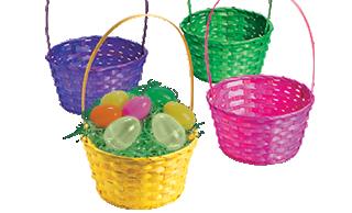 Baskets & Grass