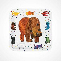 Eric Carle Brown Bear, Brown Bear, What Do You See? Dinner Plates