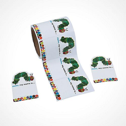 Eric Carle's The Very Hungry Caterpillar? Name Tags