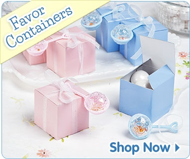 baby shower favor containers