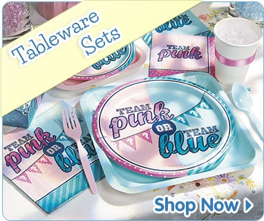 baby shower tableware sets
