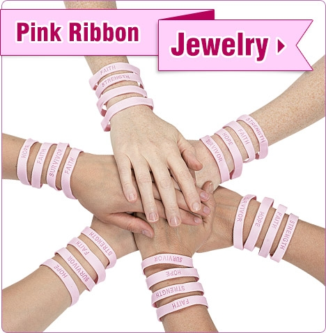 Pink Ribbon Jewelry - Shop Now