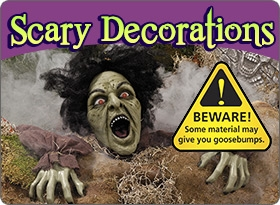 Scary Halloween Decorations - Shop Now