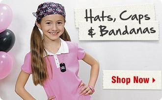 Hats, Caps & Bandanas - Shop Now