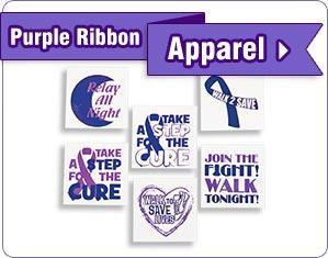Purple Ribbon Apparel - Shop Now