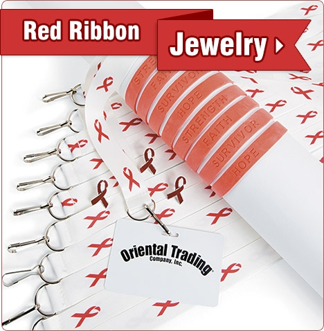 Red Ribbon Jewelry - Shop Now
