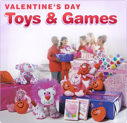 Valentine's Day Toys & Games - Shop Now