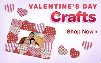 Valentine's Day Crafts - Shop Now