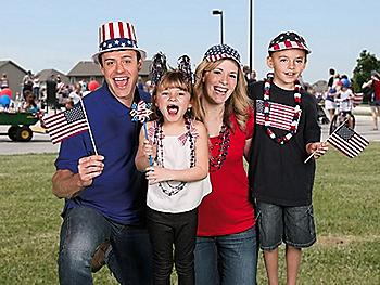 4th of July Costumes, Accessories and Jewelry