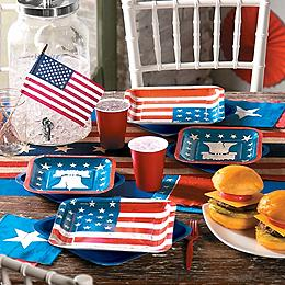 4th of July Tableware
