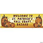 Personalized Fall Banner  (LG)