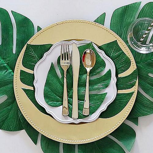 Simple Tropical Place Setting DIY