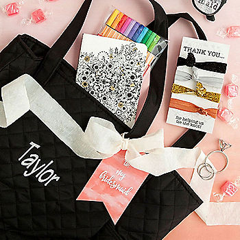 DIY Bridesmaid Gift Bags