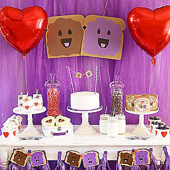 PB&J Valentine's Day Party