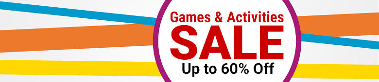 Games & Activities Sale - Up to 60% Off!