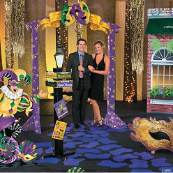 Casino photo booth backdrop