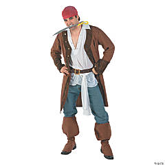 Buccaneer Pirate Adult Men's Costume