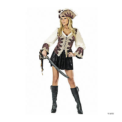 Royal Pirate Lady Adult Women's Costume