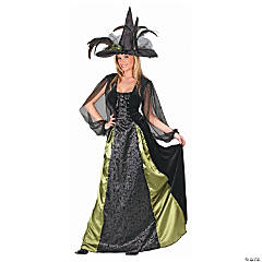 Goth Maiden Witch Costume for Women