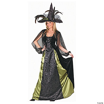 Goth Maiden Witch Adult Women's Costume